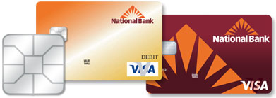 National Bank Chip Cards